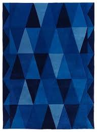 Modern Blue Rugs What Sizes Does This Blue Triangle Rug Come In How Much Price Of Tot