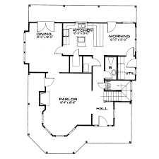 5 Bedroom Floor Plans 1 Story Victorian Style House Plan 3 Beds 2 50 Baths 2400 Sq Ft Plan 43 105