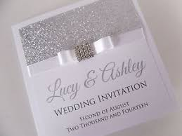 Handmade Wedding Invitations 10 Excellent Sparkly Wedding Invitations Only For You Theruntime Com