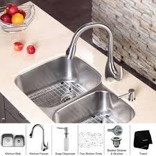 Tuscan Bronze Kitchen Faucet 3 Hole Kitchen Faucet Soap Dispenser Best Faucets Decoration