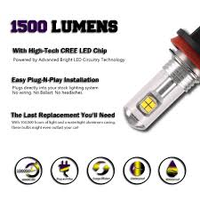 lexus yellow fog light capsule nighteye h16 80w led fog tail light bulbs driving lamp headlight