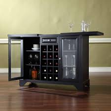 Black Bar Cabinet Bars Bar Sets Kitchen Dining Room Furniture The Home Depot