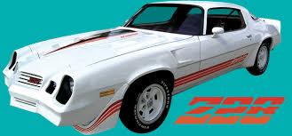 81 z28 camaro 1980 81 chevrolet camaro z28 tri color kit decal and stripe kit