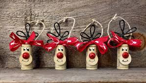 reindeer cork ornaments every bottle of wine you give this
