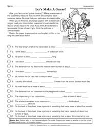 teacher ideas and activities measurement