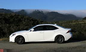 audi a4 vs lexus is350 2015 lexus is 350 f sport review with
