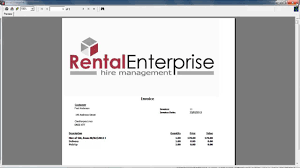 rent statement template injury incident report form template