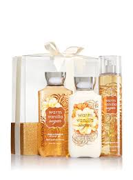 bath gift sets warm vanilla sugar wrapped with a bow gift set signature