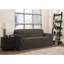 one piece stretch sofa slipcover buy sofa slipcovers stretch from bed bath beyond