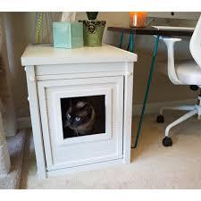 Ecoflex Litter Loo Hidden Kitty Litter Box End Table Free Shipping
