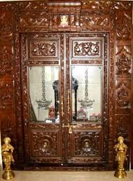 Glass Designs For Pooja Room Doors