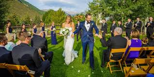 vail wedding venues weddings larkspur