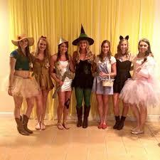 diy halloween costumes for teenage girls wizard of oz girls group halloween costume squad diy u2026 pinteres u2026