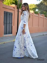 super duper long sleeve white maxi dress