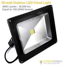 12v low voltage 50 watt outdoor led flood light 4500 lumen