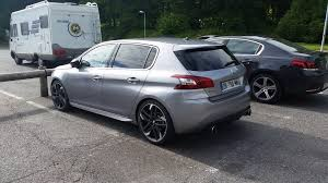 peugeot cars south africa peugeot 308 gti spied completely undisguised ahead of goodwood fos