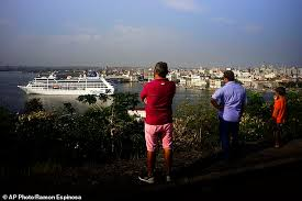 Indiana how to travel to cuba from usa images First u s cruise ship docks in havana in 40 years as american jpg