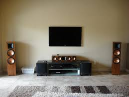 Living Room Perfect Theaters Ideas And Home Theater Design Images - Living room with home theater design