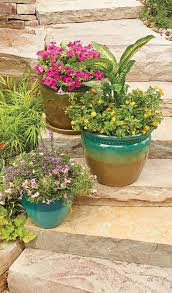 pots and planters from better homes and gardens at walmart come in