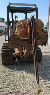 1972 case 475 vibratory cable plow item aw9976 sold sep