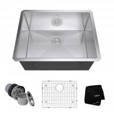 Stainless Steel Kitchen Sinks Kitchen Sinks Kitchen KrausUSAcom - Sink kitchen stainless steel
