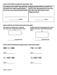 3 md 8 perimeter 3rd grade common core math worksheets 4th 9 weeks