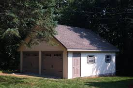 dimensions of a two car garage detached sheds unlimited