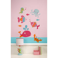 kids room nursery wall decals babies carter sea collection wall decals