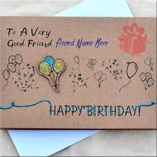 print name on birthday card for best friend best friend