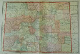 Map Of Colorado With Cities by Antique Maps Of Colorado