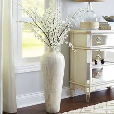 Tall Floor Vases Home Decor by Ivory Mother Of Pearl Floor Vase Ivory Pearls And Living Rooms