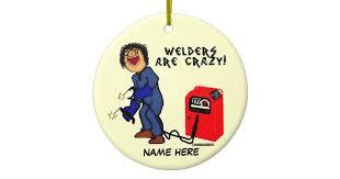 welder ceramic ornament zazzle