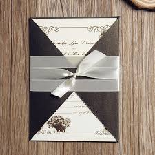 affordable pocket wedding invitations vintage wedding invitations card rustic neutral pocket ewpi106 as