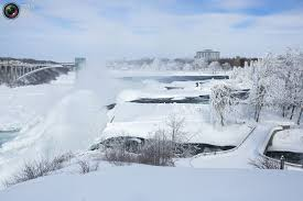 niagara falls partially frozen pictures totallycoolpix