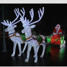 zz acl 095 china outdoor led acrylic lighted decoration
