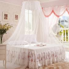 Lace Bed Canopy 1pc Lace Insect Bed Canopy Netting Curtain Dome