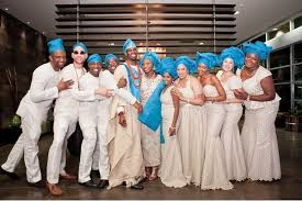 Latest Traditional Tswana Wedding Dresses 2017 Fashion Qe