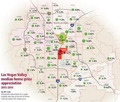 Zip Code Map Las Vegas Nv by Median Price Of Las Vegas Homes Keeps Rising
