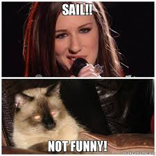 Sail Meme - sail not funny make a meme