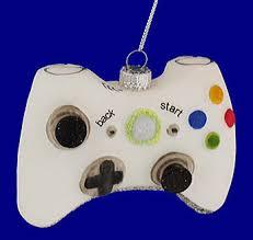 xbox controller ornament glass