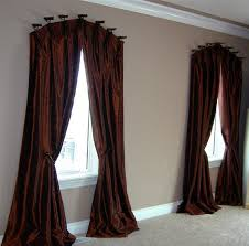 Bedroom Curtain Rods Decorating Curved Curtain Rod For Arch Window Curtains Wall Decor Pertaining