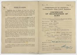 alian a h certificate registration of issued by the commonwealth of