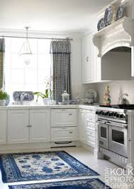 Blue And White Kitchen Ideas Marble And Blue White Change Light Fixture Kitchen