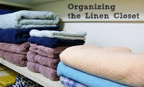 organizing the linen closet heartworkorg com