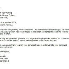Tax Letter For Donation Goodly Donation Thank You Letter U2013 Letter Format Writing