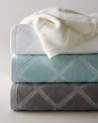 Aqua Towels Bathroom Diamond Bath Towels Neiman Marcus