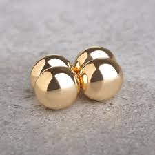 magnetic earrings brand new magnetic earrings studs gold color 1 0 cm no