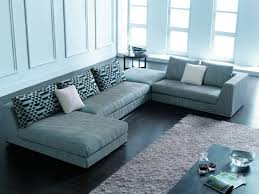 blue sectional sofa with chaise grey maier contemporary charcoal fabric sectional sofas with