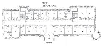 Floor Plan White House Agnes Scott College Main Hall