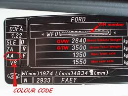 ford transit forum u2022 view topic paint colour